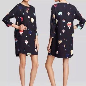 Kate Spade Dress 6 Hot Air Balloons Navy Tunic